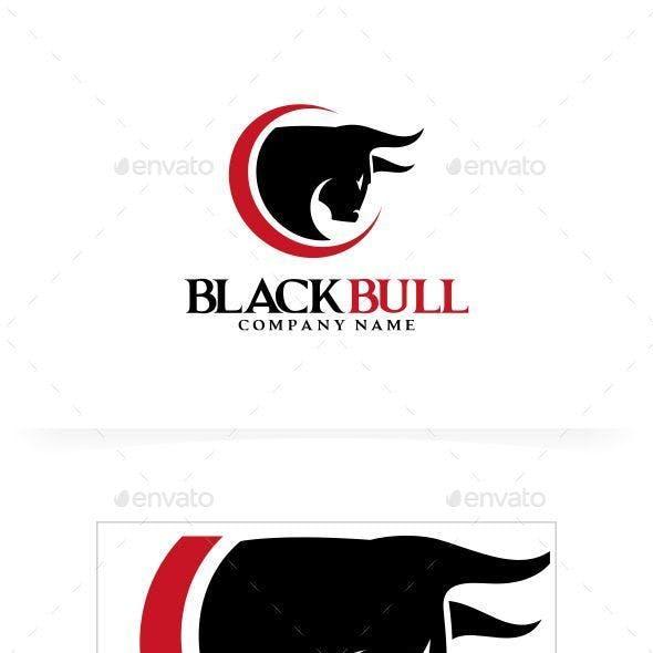 Black Bull Logo Template
