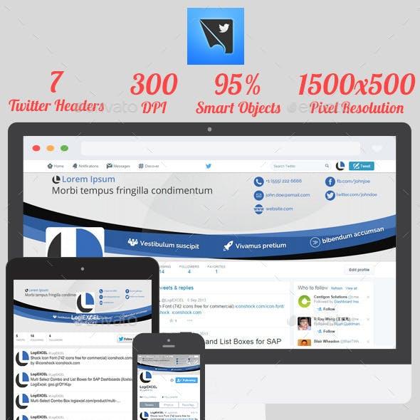 Kavah - Clean Twitter Headers