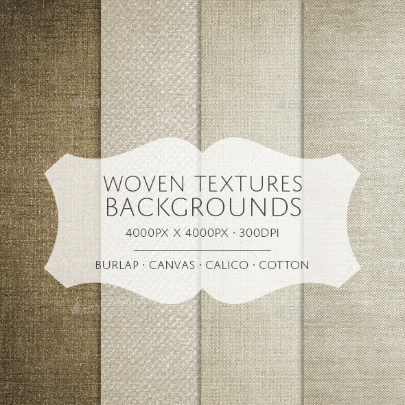 Woven Textures Backgrounds