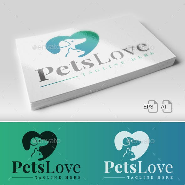 Pets Love - Logo
