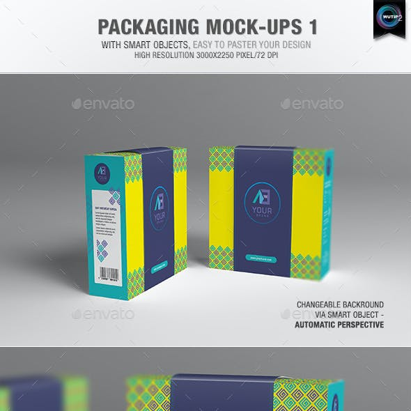 Packaging Mock-ups 1