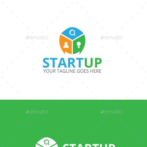 Startup - Creative Idea Logo