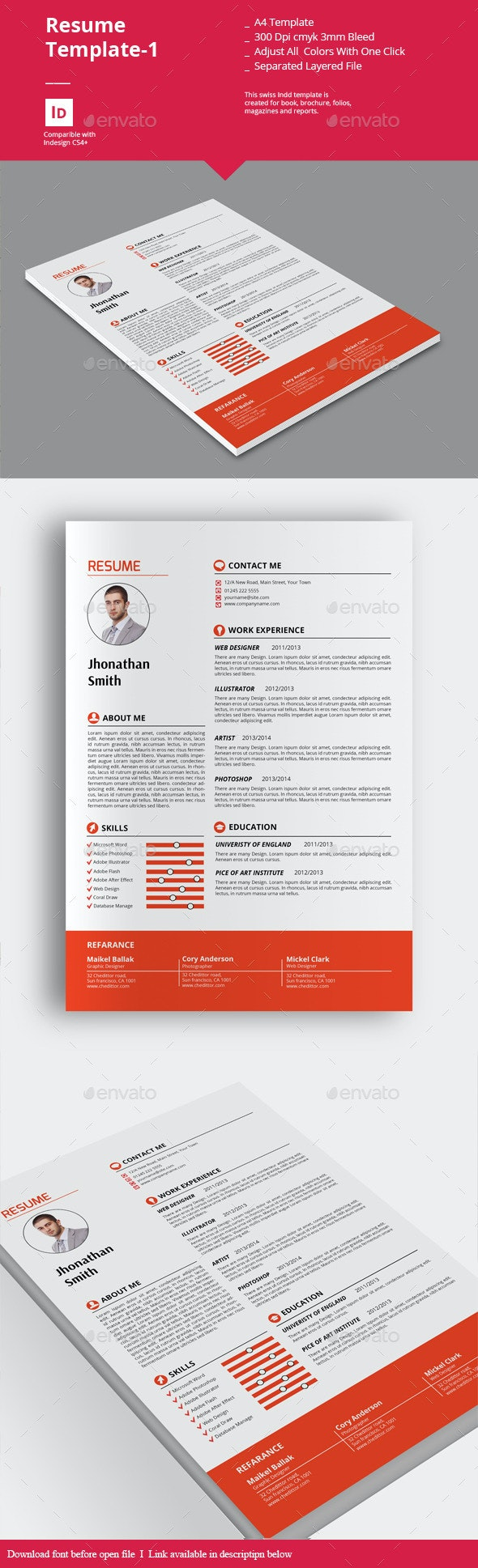 Resume Templates-1 - Resumes Stationery