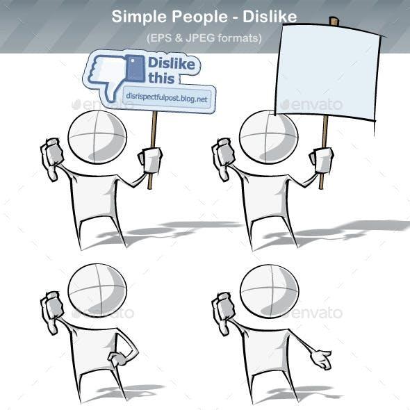 Simple People - Dislike
