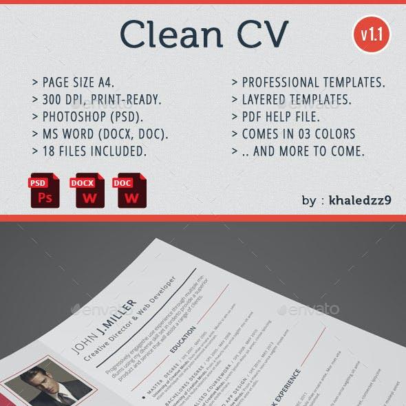 Clean CV