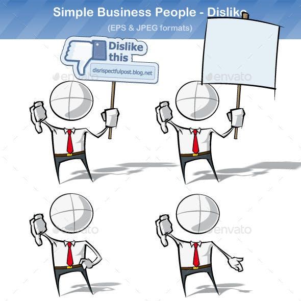 Simple Business People - Dislike