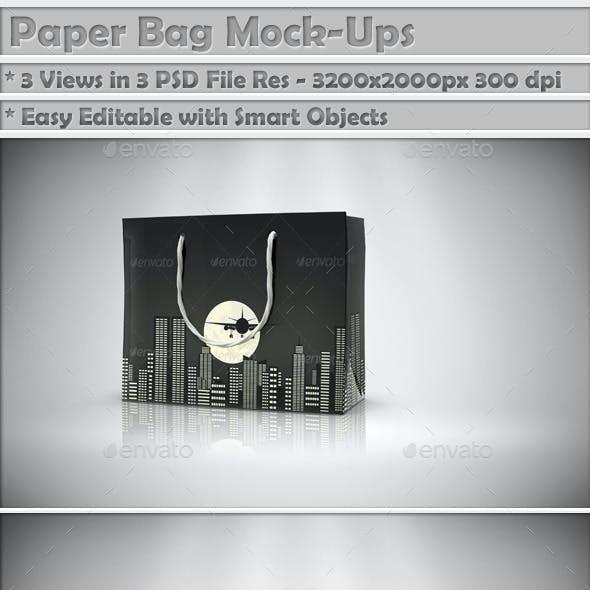 Paper Bag Mock-Up