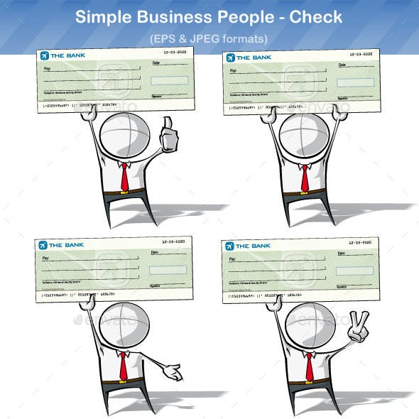 Simple Business People - Check