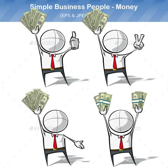Simple Business People - Money