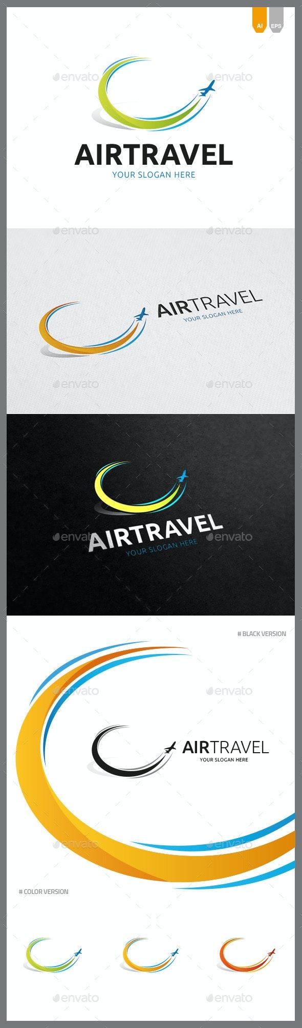 Air Travel Logo - Objects Logo Templates