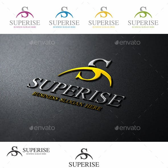Super Rise S Logo Letter