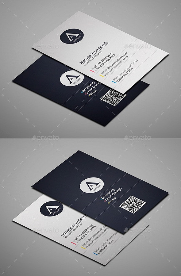Simple Business Card Vol. I - Creative Business Cards