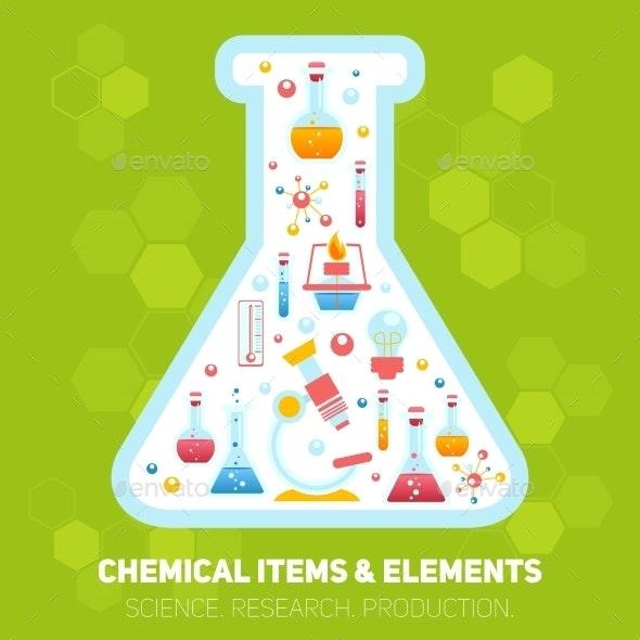 Chemistry Infographics Composition - Miscellaneous Conceptual