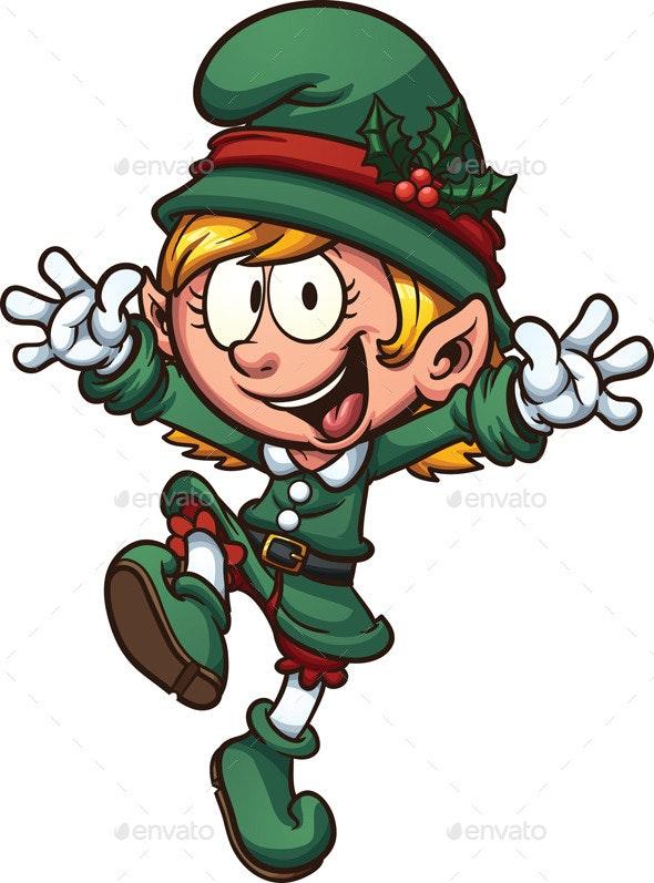 Christmas Elf - Seasons/Holidays Conceptual