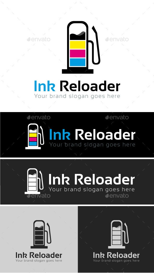 Ink Services Logo Template - Objects Logo Templates