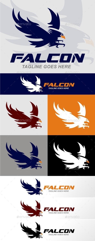 Falcon  - Animals Logo Templates