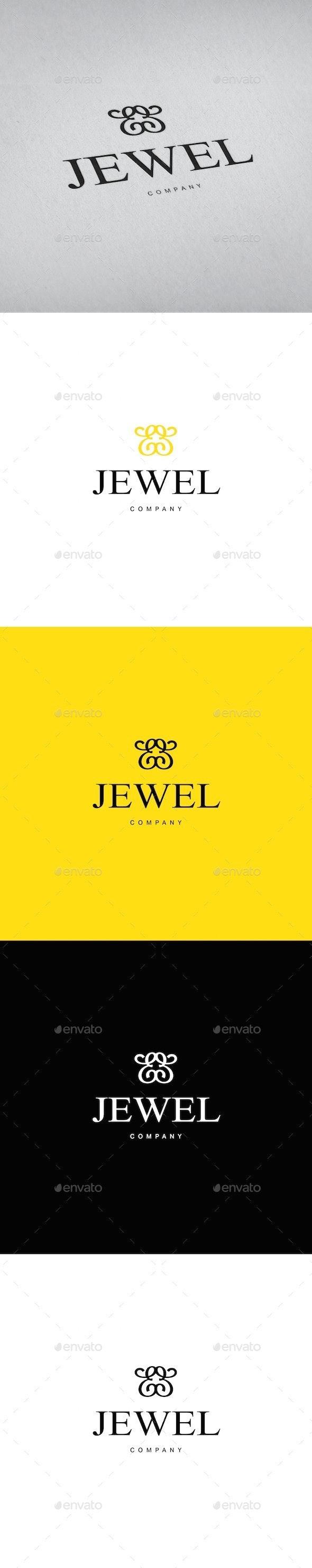 Jewellery Ornament Logo Template - Objects Logo Templates