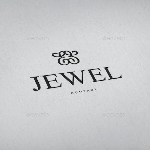 Jewellery Ornament Logo Template