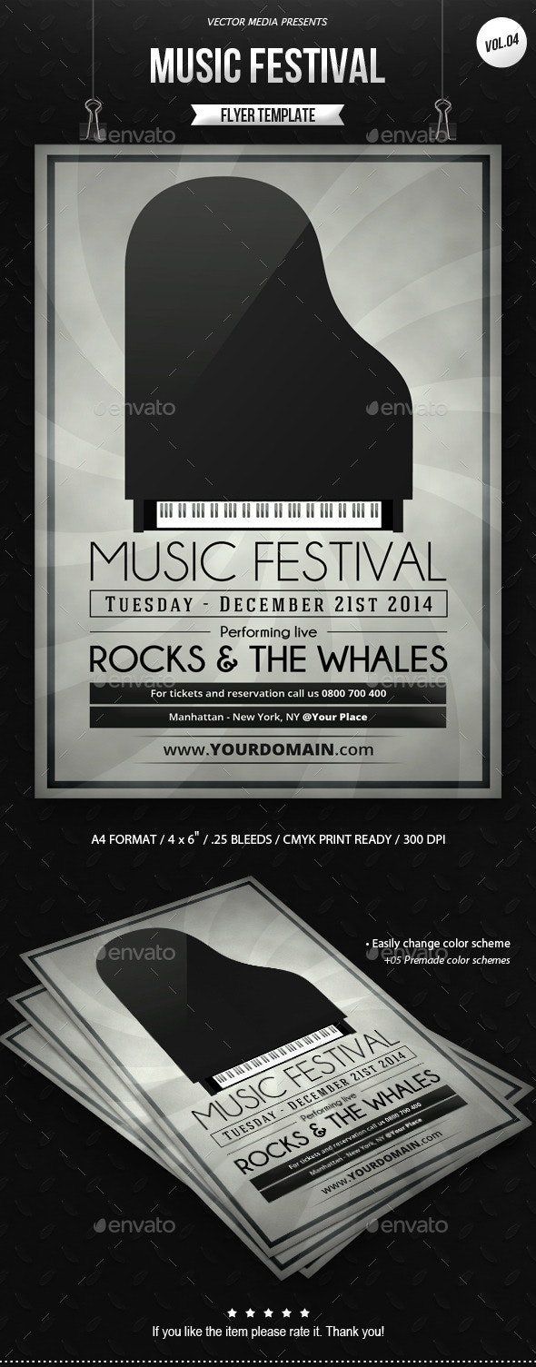 Music Festival - Flyer [Vol.4] - Clubs & Parties Events