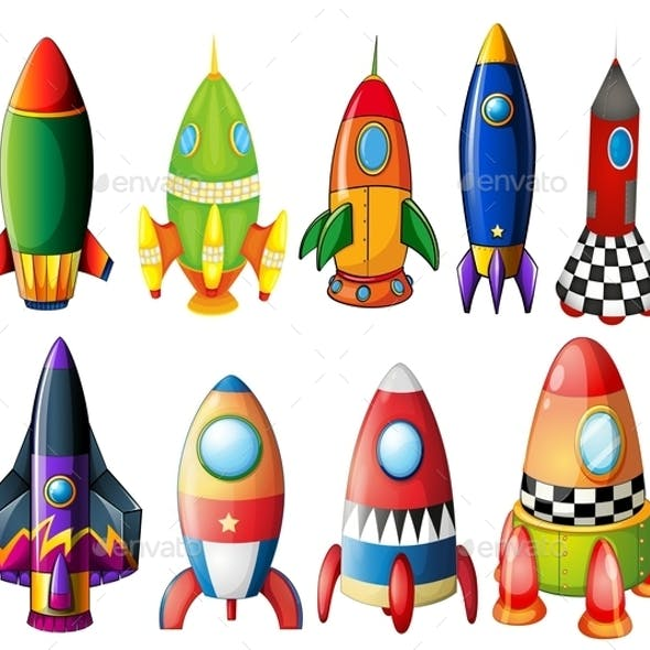 Colorful Rockets