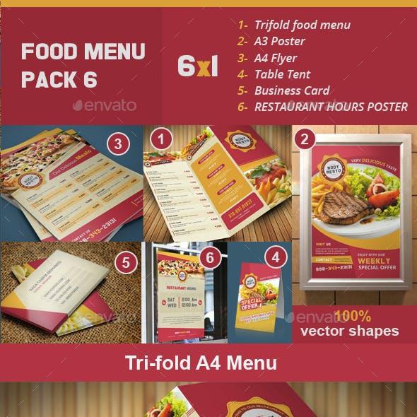 Food Menu Pack 6