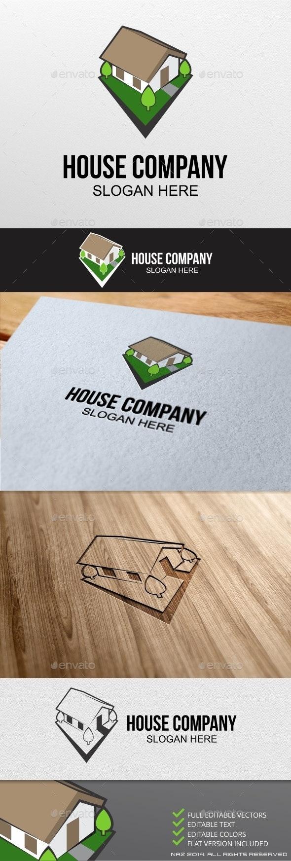 House Game Logo - Buildings Logo Templates