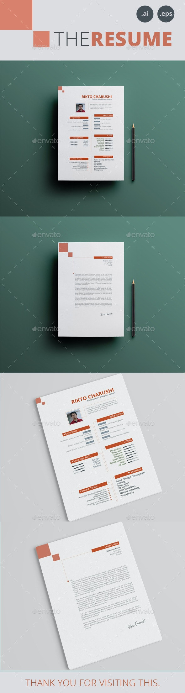 THE RESUME - Resumes Stationery