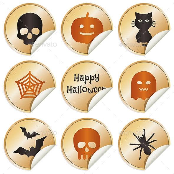 Halloween Stickers - Halloween Seasons/Holidays