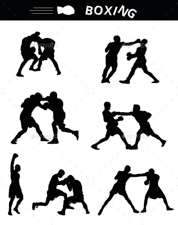 Boxing - People Characters