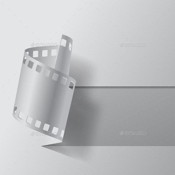 Film Banner - Backgrounds Decorative