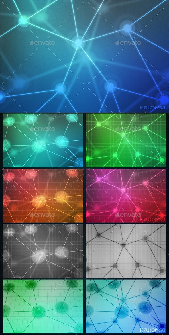 Network Background Images - Tech / Futuristic Backgrounds