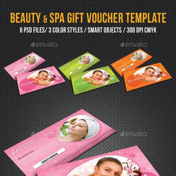 Spa and Wellness Gift Voucher V01