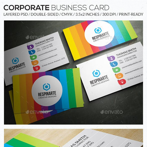 Corporate Business Card - RA63
