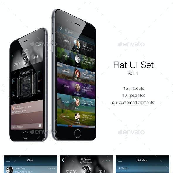 Flat UI Set Vol. 4