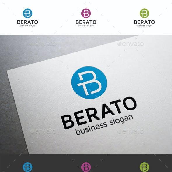 B Letter Logo - Berato TB