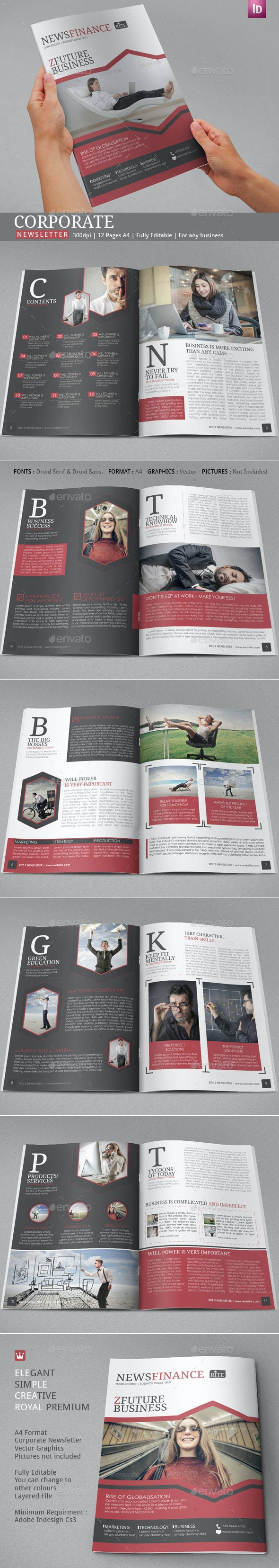 Rite Business Newsletter - Newsletters Print Templates