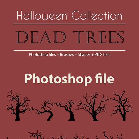 Halloween Collection - Dead Trees