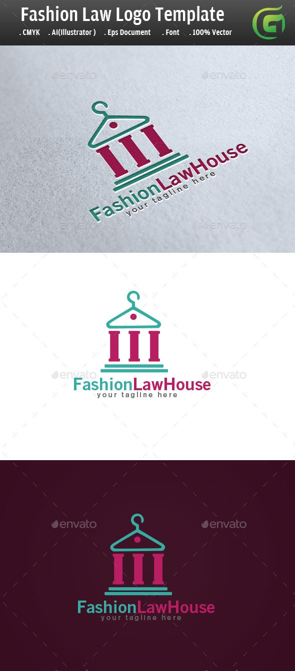 Fashion LawHouse Logo  - Symbols Logo Templates
