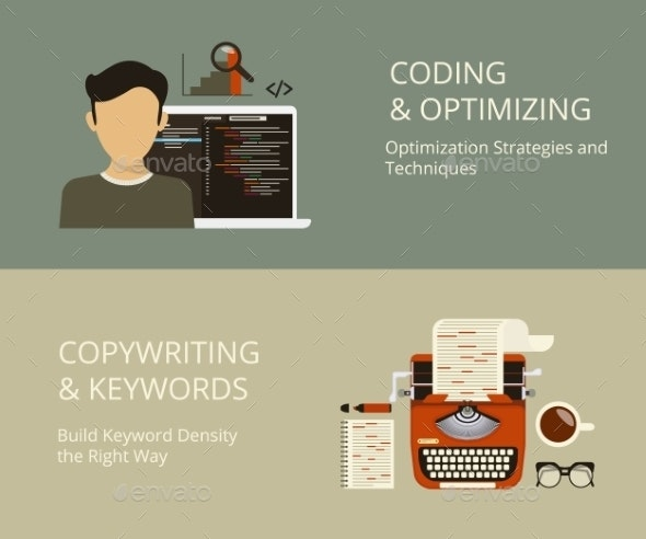 Coding and Copywriting - Concepts Business
