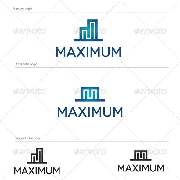 Maximum Logo Design - ABS-009