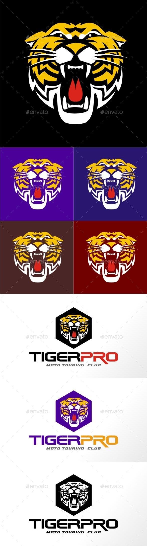 Tiger Pro - Animals Logo Templates