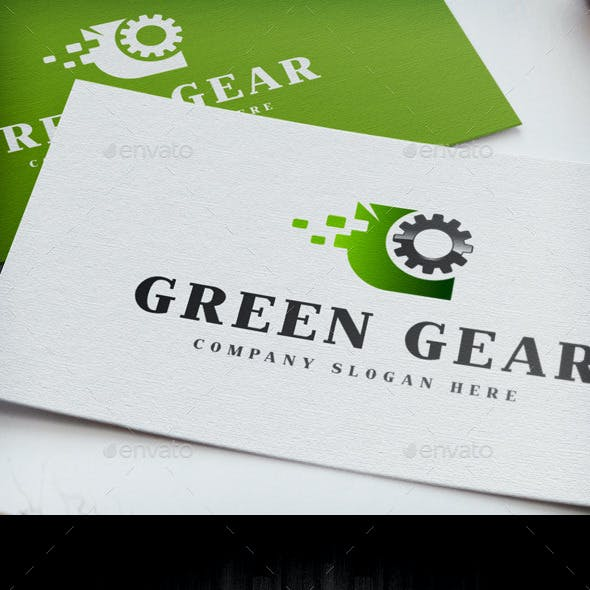 Green Gear Logo