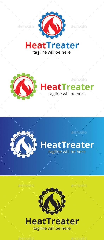 Heat Treater - Logo Templates