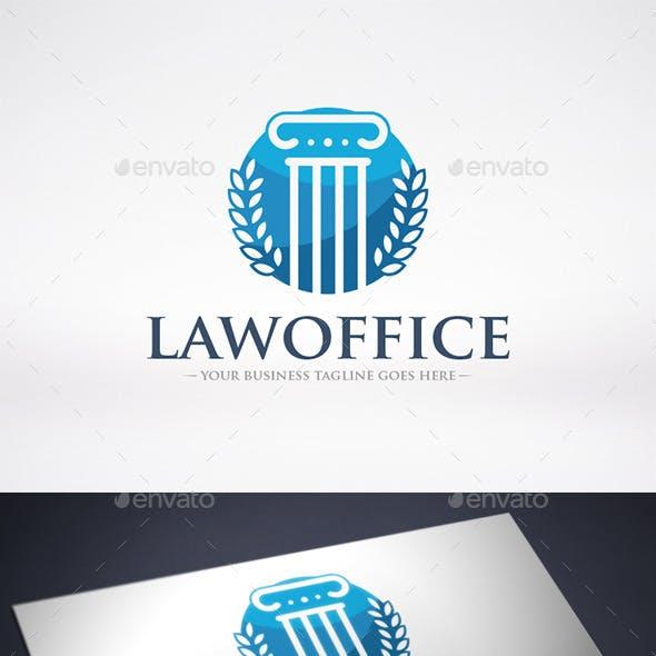 Law Firm Column Logo Template