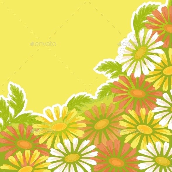 Flower Holiday Background - Patterns Decorative