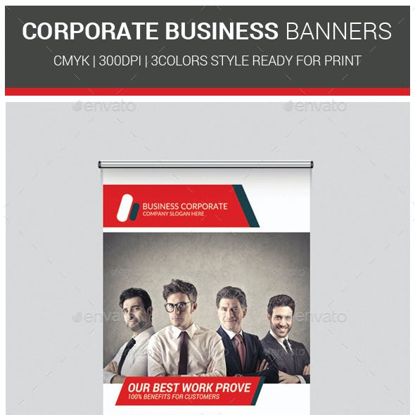 Corporate Agency Business Banners Template