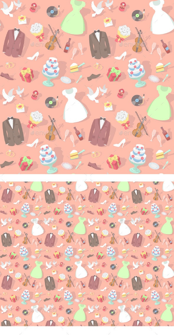 Wedding Pattern  - Weddings Seasons/Holidays