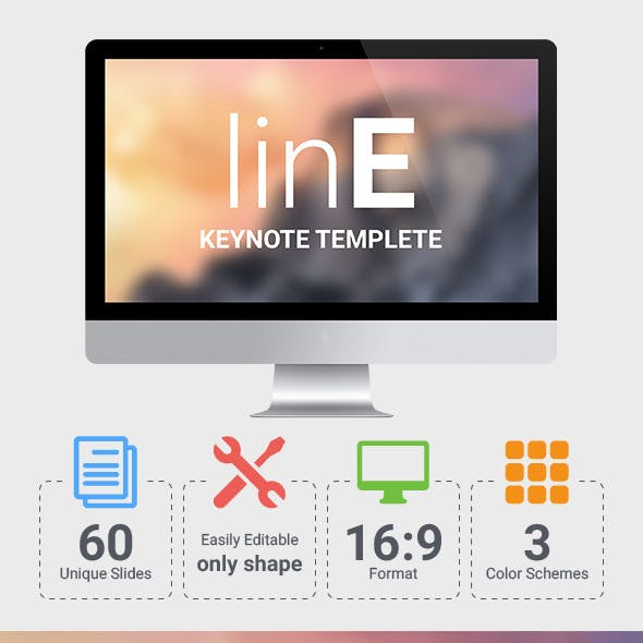linE Keynote Template