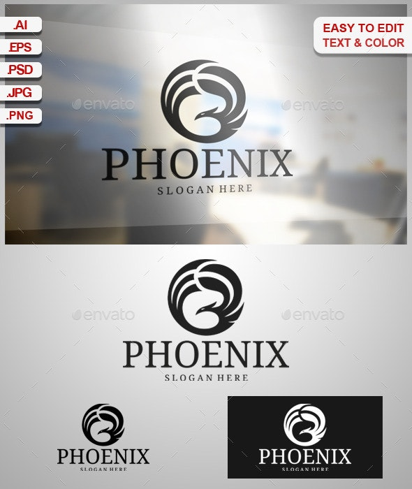 Phoenix - Animals Logo Templates