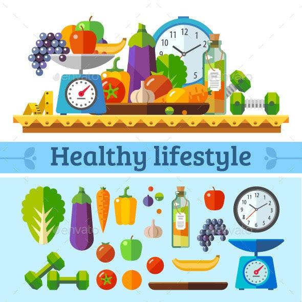 Healthy Lifestyle - Health/Medicine Conceptual